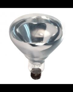 Damar 01520A 250BR40/1/SSFC 250 Watt BR40 Clear Heat Lamp Bulb Shatter Resistant