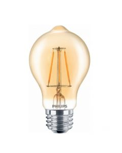 Philips 461665 4.5A19b/LEDFilament/820/CL-A/DIM 120V  [DISCONTINUED - Limited Quantity Available]