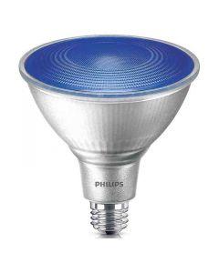 Philips 469072 PAR38 LED Bulb - 13.5PAR38/PER/BLUE/ND/ULW/G/120V 4/1FB 120V