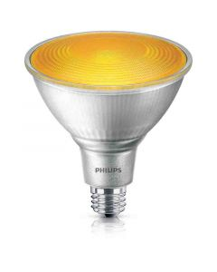 Philips 469080 PAR38 LED Bulb - 13.5PAR38/PER/YELLOW/ND/ULW/G/120V 4/1FB 120V