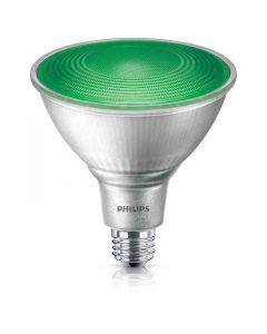 Philips 469098 PAR38 LED Bulb - 13.5PAR38/PER/GREEN/ND/ULW/G/120V 4/1FB 120V