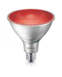 Philips 469106 PAR38 LED Bulb - 13.5PAR38/PER/RED/ND/ULW/G/120V 4/1FB 120V