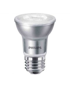 Philips 470047 Dimmable PAR16 LED Bulb - 5.5PAR16/AMB/F40/830/E26/DIM120V BC 1PK 120V