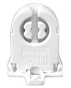 T8 Medium Bi-Pin - Rotary Lock with Nib - Unshunted
