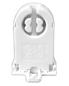 T8 Medium Bi-Pin - Rotary Lock - Tall with Nib - Unshunted