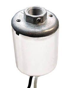 Mogul Base Socket with Metal Cap - 1/4 IP
