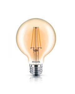 Philips 537589 Dimmable G25 LED Bulb - 4.5G25/VIN/820/E26/CL/GL/DIM 4/1BC T20 120V