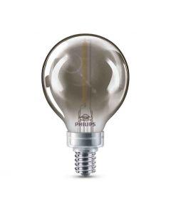 Philips 543157 Dimmable G16.5 LED Bulb - 3G16.5/MOD/840/E12/CL/GL/DIM 4/BC 120V
