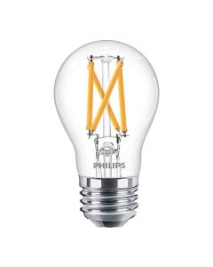 Philips 548313 Dimmable A15 LED Bulb - 8A15/PER/950/CL/G/E26/DIM 1FB T20 120V