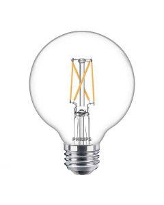 Philips 549196 Dimmable G25 LED Bulb - 5.5G25/PER/950/CL/G/E26/DIM 1FBT20 120V