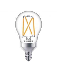 Philips 549378 Dimmable A15 LED Bulb - 3.8A15/PER/927-922/CL/G/E12/WGX1FB T20 120V