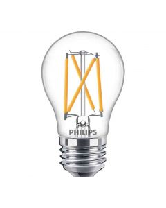 Philips 549386 Dimmable A15 LED Bulb - 3.8A15/PER/927-922/CL/G/E26/WGX1FB T20 120V