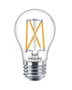 Philips 549402 Dimmable A15 LED Bulb - 5.5A15/PER/927-922/CL/G/E26/WGX1FB 120V
