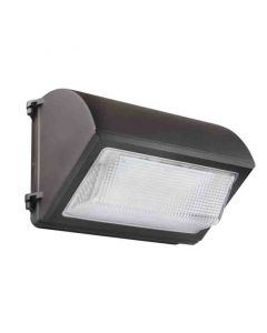 Satco 65-254 LED Cutoff Wall Pack; 55W; 5000K; Bronze Finish; 100-277V