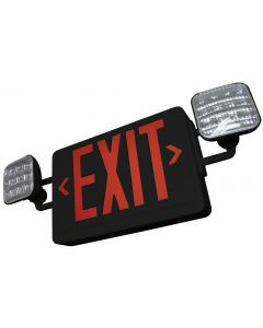 Blue Moon C2RBSDTRC All LED Exit & Emergency Combo