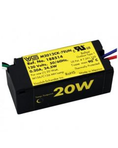 Vossloh Schwabe M2012CK-7EUN 20 Watt Electronic Metal Halide Ballast