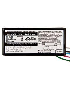Hatch Nano MC39-1-J-120X  39 Watt Electronic Metal Halide Ballast