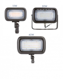 Blue Moon MFD03-15W-27V-40K-BDB77-TR 15 Watt Mini Flood Light