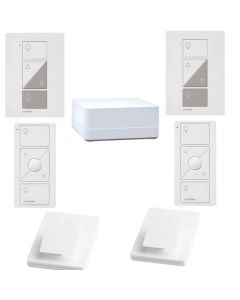 Lutron Caseta P-BDG-PKG2P Dimmer Kit for table and floor lamps - White