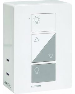 Lutron Caseta PD-3PCL-WH Plug-In Dimmer - White