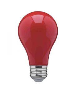 Satco S14984 8A19/RED/LED/E26/120V