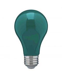 Satco S14986 8A19/GREEN/LED/E26/120V