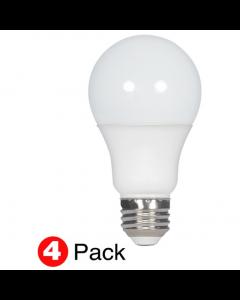Satco S28769 LED A19 Bulb - 11.5A19/LED/27K/ND/120V/4PK