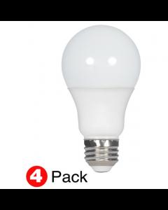 Satco S28770 LED A19 Bulb - 11.5A19/LED/50K/ND/120V/4PK