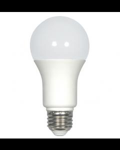 Satco S29835 LED A19 Bulb - 9.8A19/OMNI/220/LED/27K
