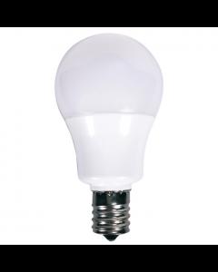 Satco S9065 LED A15 Bulb - 5.5A15/LED/3000K/E17/120V
