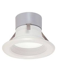 """Satco S9124 - 4\ Baffled LED Recessed Can Retrofit Kit - 8WLED/RDL/4/BFL"""" *DISCONTINUED - Limited Quantity Available*"""