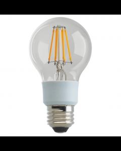 Satco S9846 LED A19 Bulb - 9A19/CL/LED/E26/30K/120V
