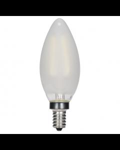 Satco S9868 LED C11 Bulb - 3.5CTF/LED/FR/27K/120V