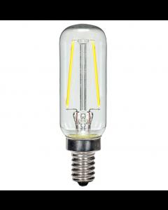 Satco S9872 LED T6 Bulb - 2.5T6/LED/CL/27K/E12/120V