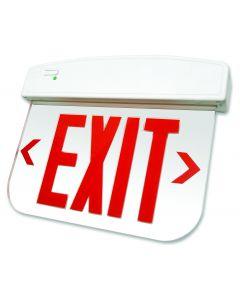 Blue Moon XELP1RMAESPV Thermoplastic Edge-Lit LED Exit Sign