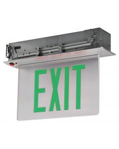 Blue Moon XELR1GCAESDT Recessed Aluminum LED Exit Sign