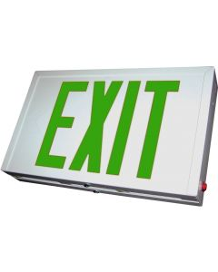 Blue Moon XS2GWE Steel LED Exit Sign