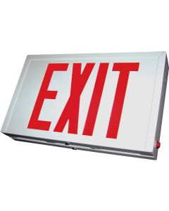 Blue Moon XS2RBESDT Steel LED Exit Sign