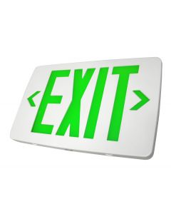 Blue Moon XTSD2GWE Thin Thermoplastic LED Exit Sign