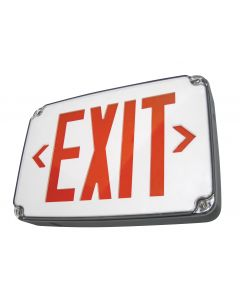 Blue Moon XWL1GGECWSDT Compact Wet Location LED Exit Sign
