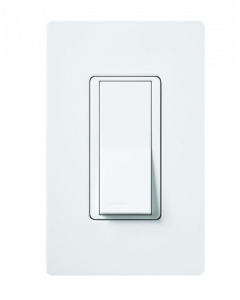 Lutron Diva CA-1PS-WH 15A Single Pole Switch - White