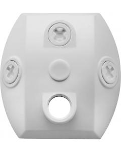 RAB Lighting CU4W Mounting Bracket - White