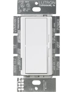 Lutron Diva CL DVCL-253P-WH Dimmer - White