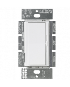 Lutron DIVA DVSTV-WH 0-10v Dimmer White