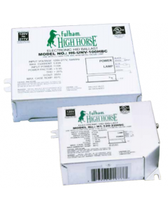 Fulham HighHorse H6-UNV-100HBC Electronic Metal Halide Ballast - DISCONTINUED