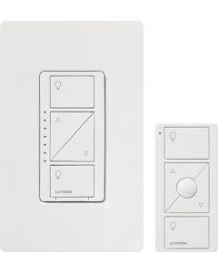 Lutron Caseta P-PKG1W-WH Dimmer Kit for wall and ceiling lights - White