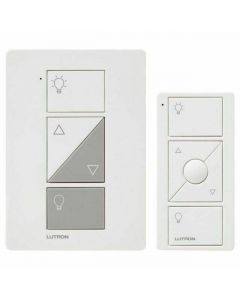 Lutron Caseta P-PKG1P-WH Dimmer Kit for table and floor lamps - White