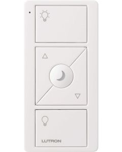Lutron PJN-3BRL-GWH-L01 - Pico Wireless Remote w/ Nightlight