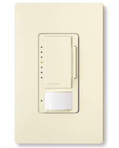 Lutron Maestro MSCL-VP153M-AL Dimmer with Vacancy Sensor - Almond