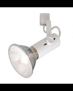 NORA NTH-109W-H Flatback Universal Lamp Holder - White
